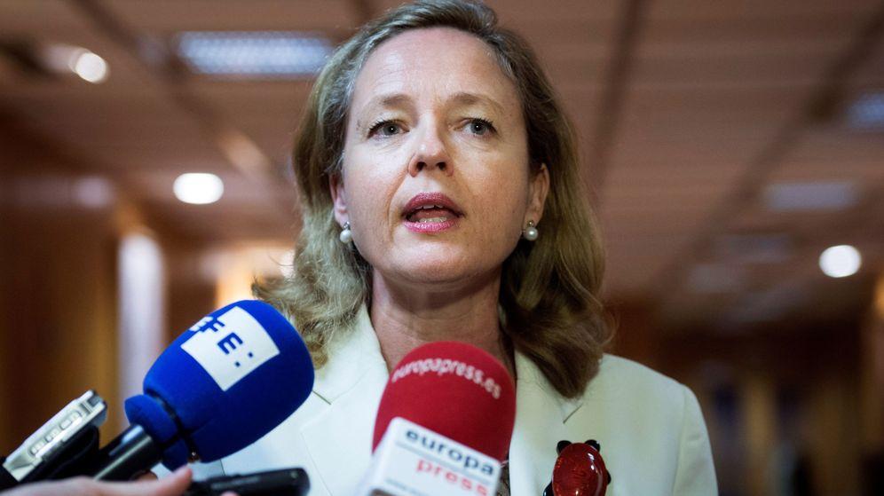 Foto: La ministra de Economía en funciones, Nadia Calviño.