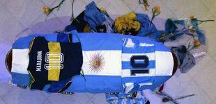 Post de Cargas policiales, avalanchas y gas lacrimógeno en el adiós de Maradona
