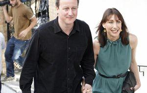 La visita 'secreta' a Granada de David Cameron y su mujer Samantha
