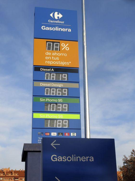Foto: Gasolinera de Carrefour (Foto: Efe)