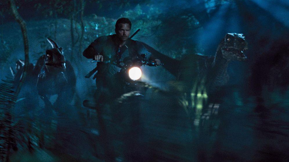 Foto: Chris Pratt en un momento de la película Jurassic World