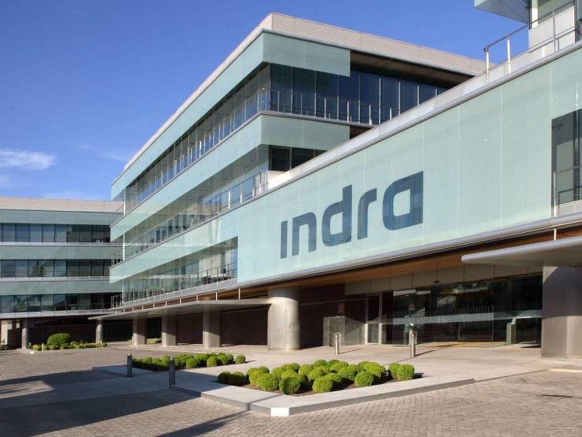 Foto: sede Indra a Madrid.  (Indra)