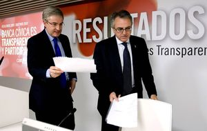 El juez pide investigar a Enrique Goñi y Miguel Sanz por el caso Caja Navarra
