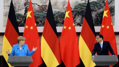 Angela merkel visita China