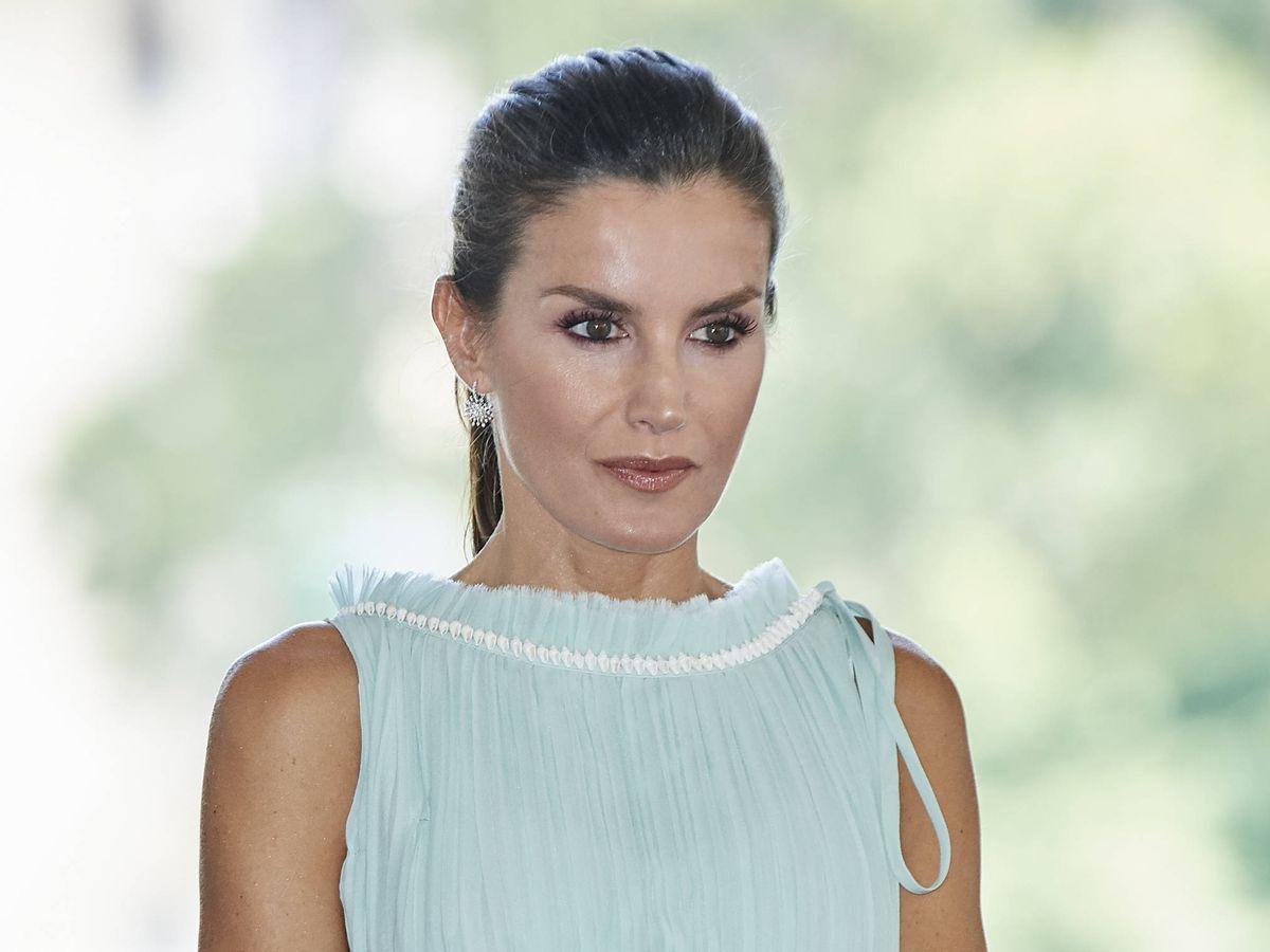 Foto: La reina Letizia, en La Habana. (Getty)