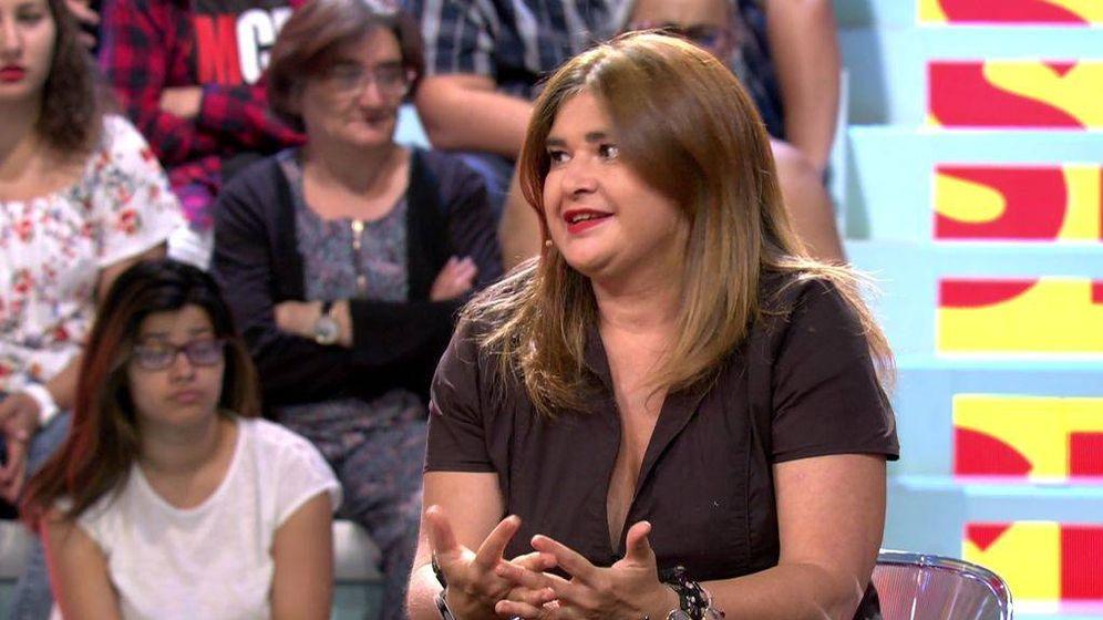 Foto: Lucía Etxebarría responde a las críticas de 'Mad in Spain'.