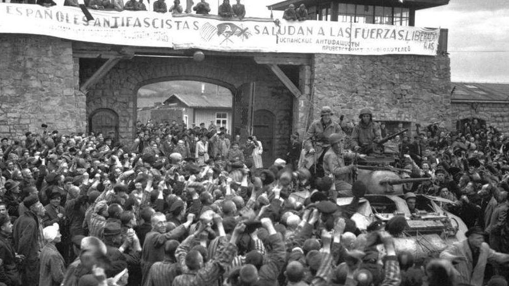 Foto: Liberación del campo de Mauthausen el 6 de mayo de 1945. (Cordon Press)