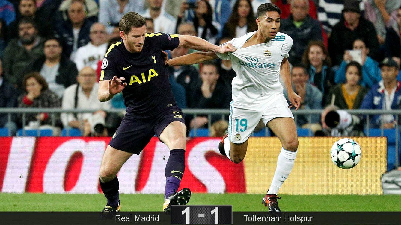 Foto: Hakimi debutó a lo grande en Champions. (Reuters)