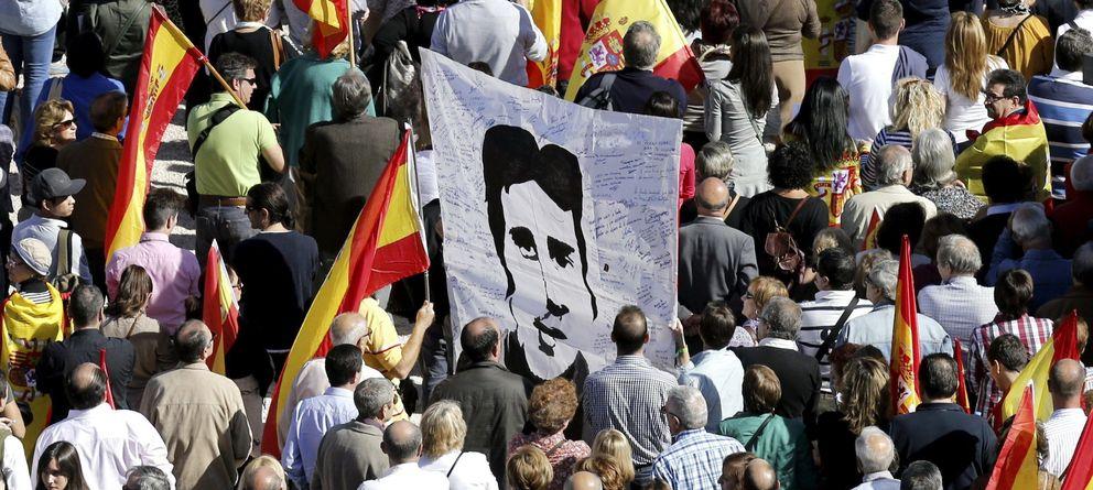 Foto: Aspecto de la manifestación. (Efe)