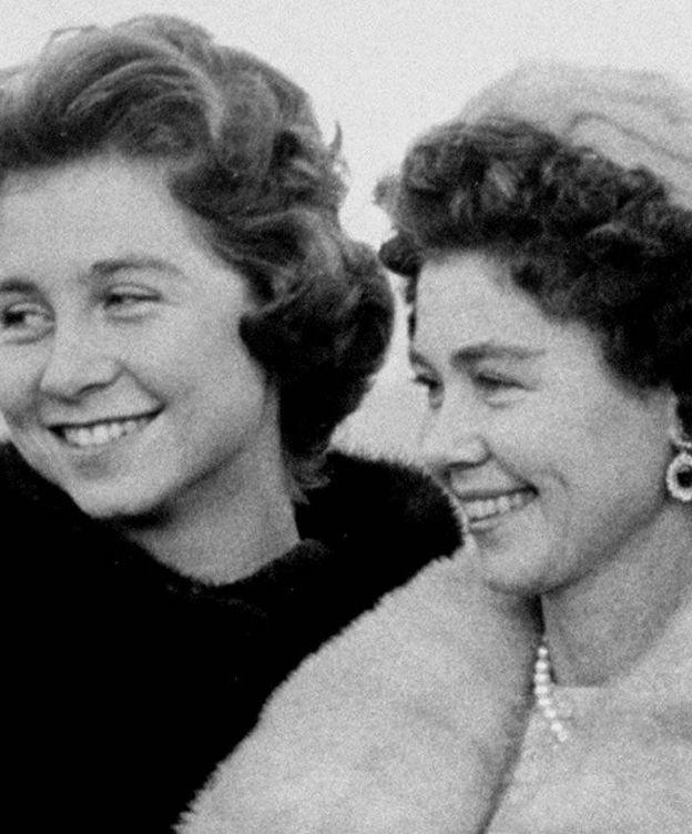 Foto: La reina Sofía y su madre. (Getty)