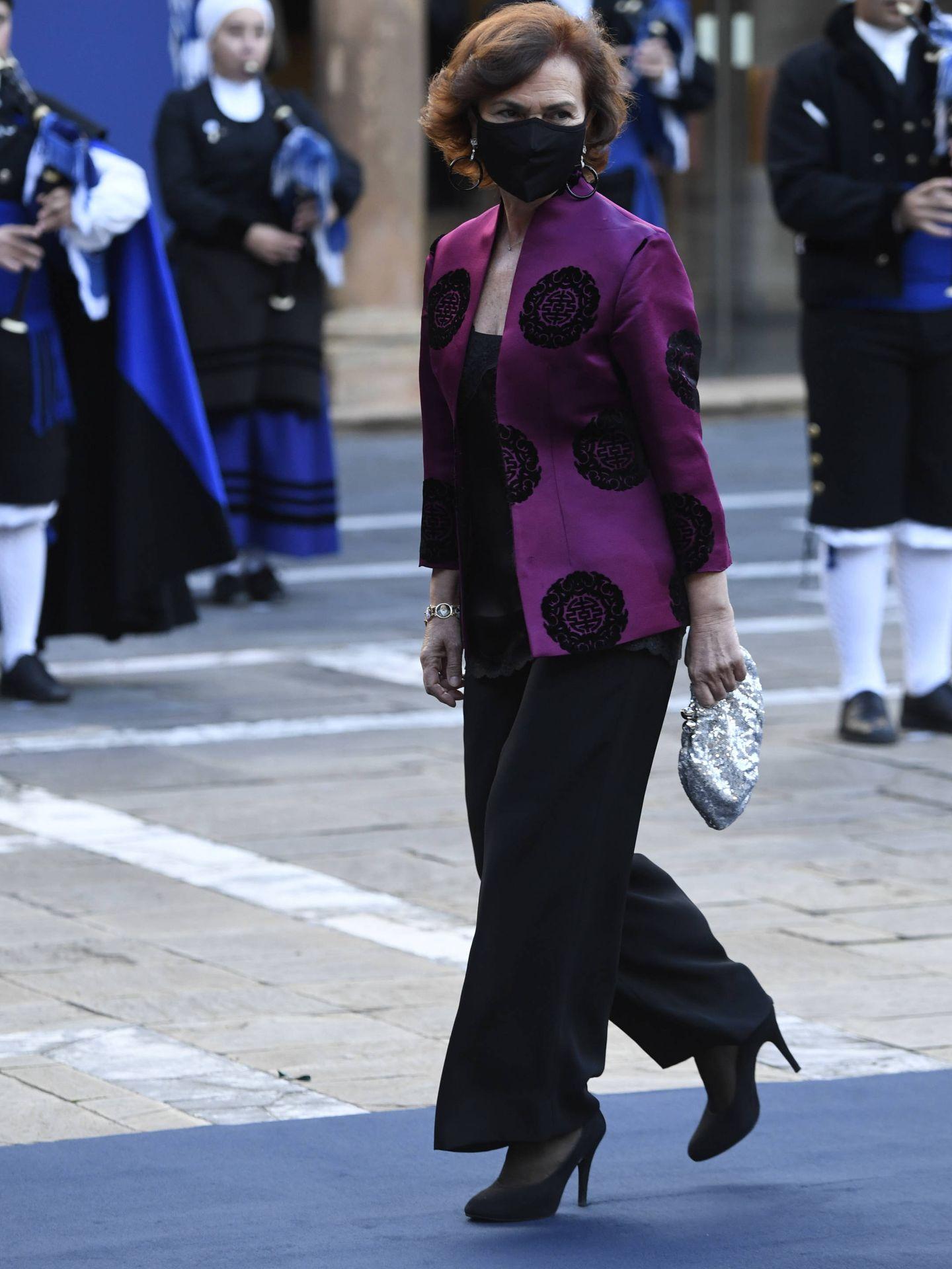 Llegada a la ceremonia de los Premios Princesa de Asturias. (Limited Pictures)