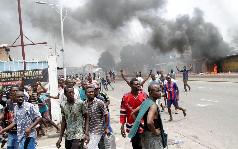 Foto: Opositores congoleños se manifiestan en Kinshasa para exigir la salida del Presidente Joseph Kabila, el 19 de septiembre de 2016 (Reuters)