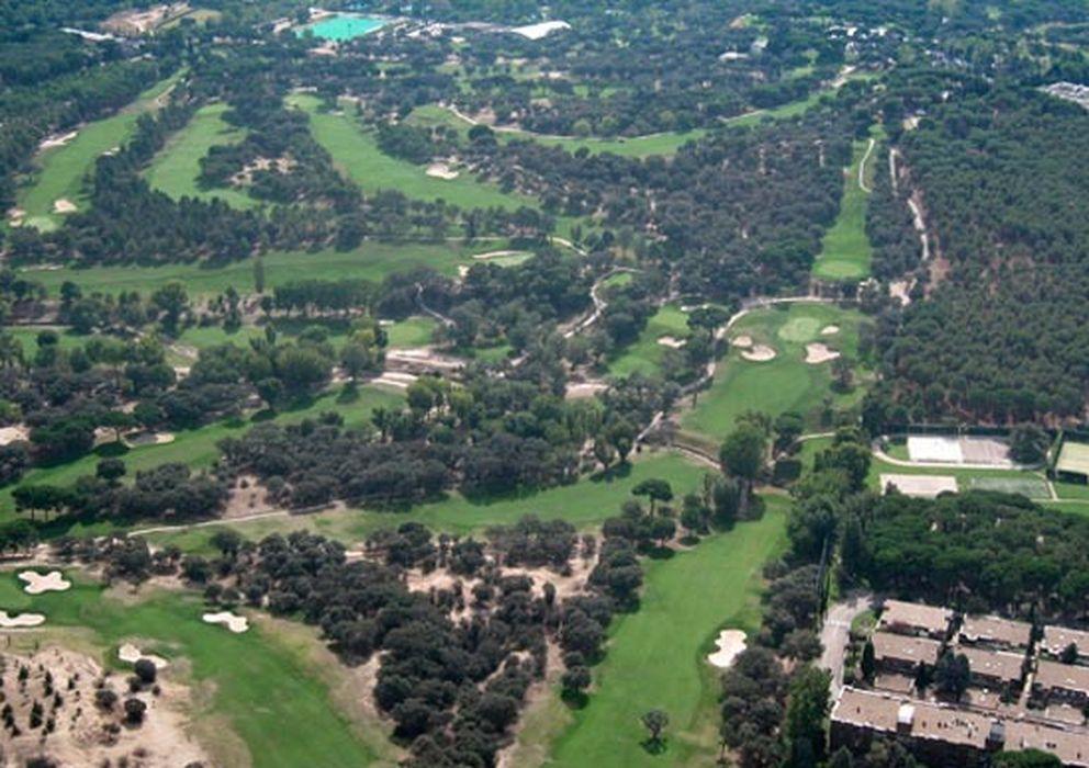 Foto: Vista aérea del madrileño Club de Campo