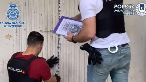 Liberados 61 inmigrantes que vivían hacinados y vigilados en sótanos de Madrid