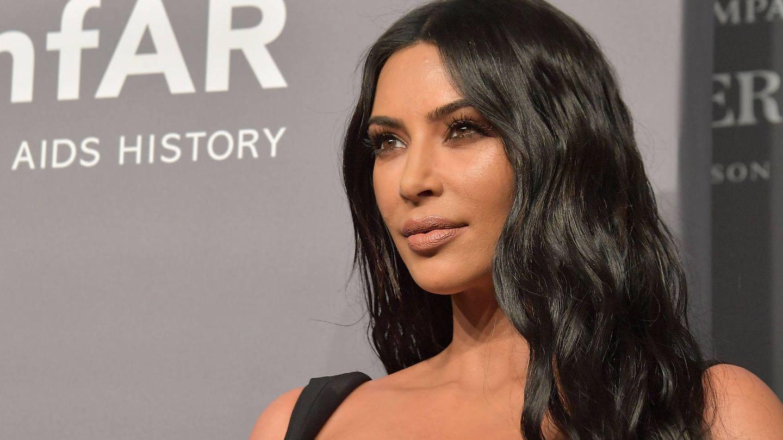 Kim Kardashian en la amfAR New York Gala en 2019. (Getty)