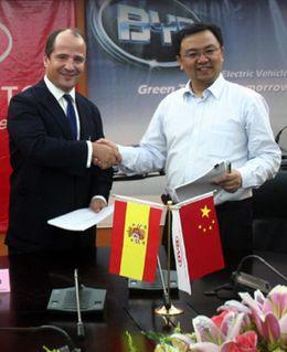Foto: Amenaza a las grandes firmas: Grupo Bergé venderá coches chinos en España