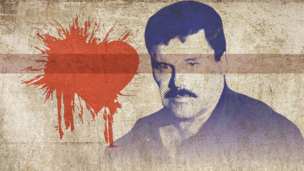 Foto: Ilustración con el rostro del Chapo Guzmán.
