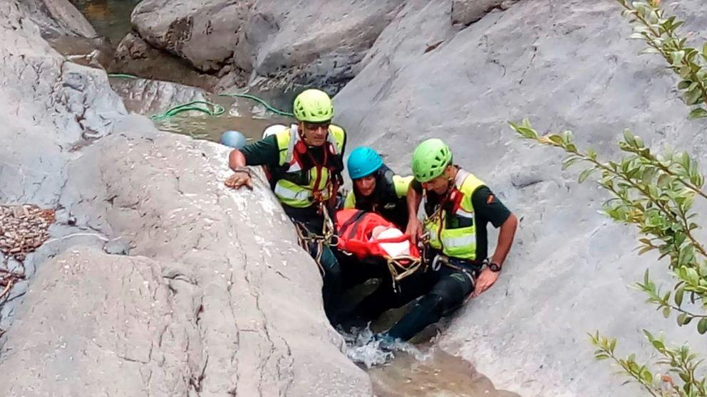 Localizado el cadáver del niño desaparecido en un barranco en Huesca