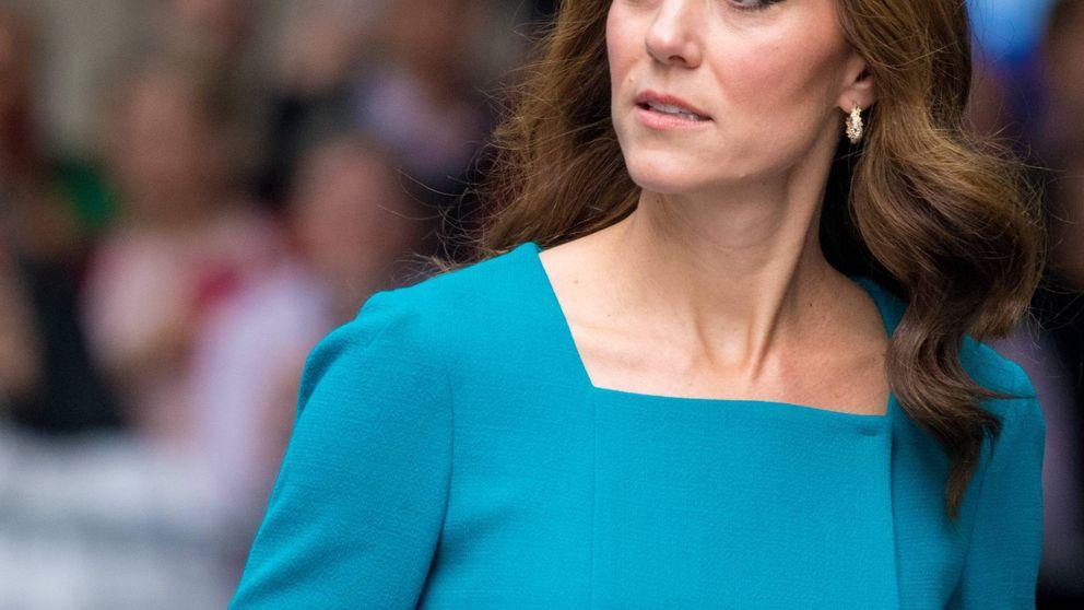 Kate Middleton y su enésimo vestido azul de la semana