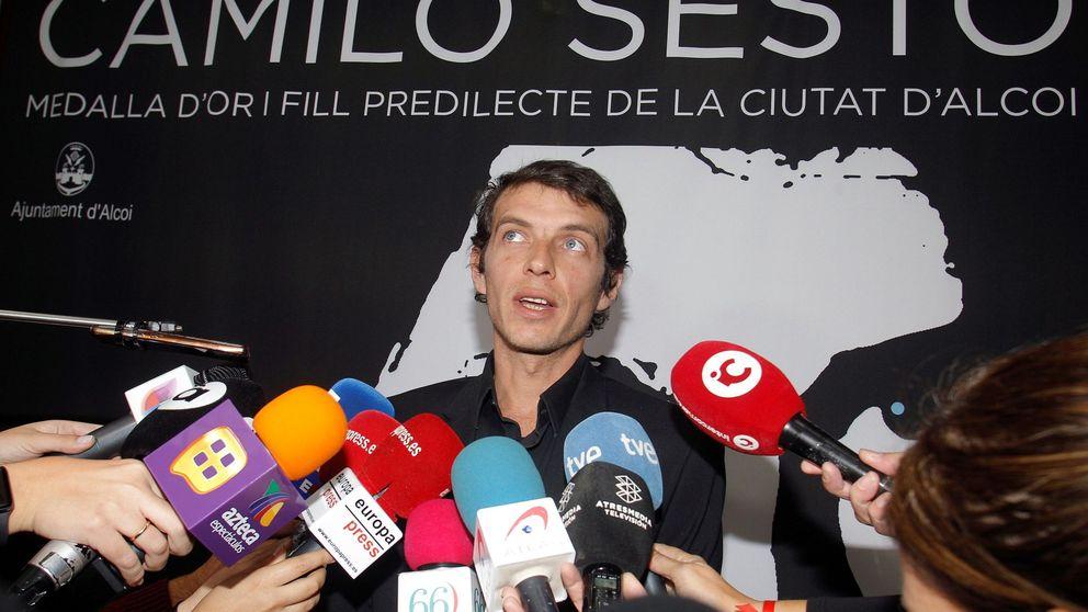 El hijo de Camilo Sesto despide a su padre en Alcoy y cumple su última voluntad