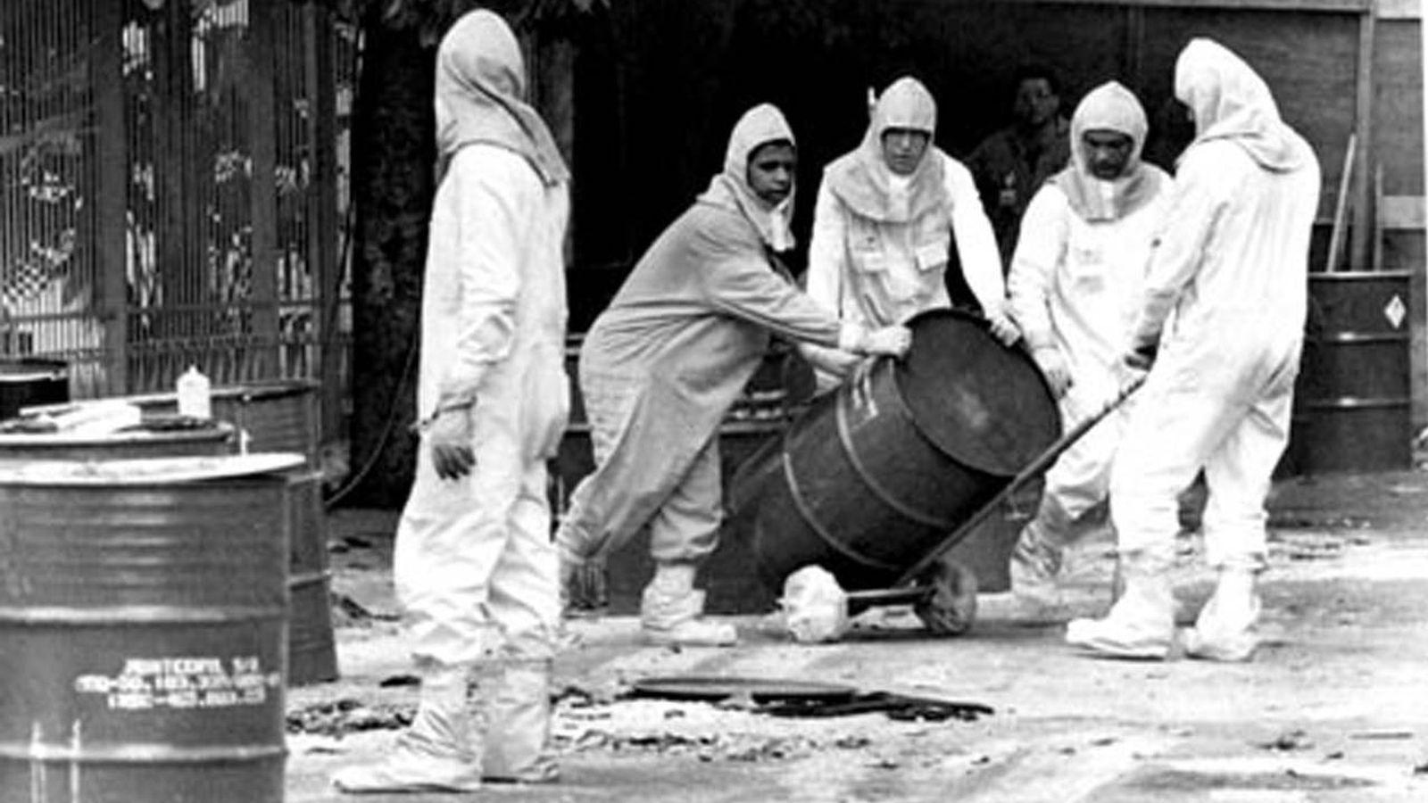 Foto: Accidente nuclear en Goiania