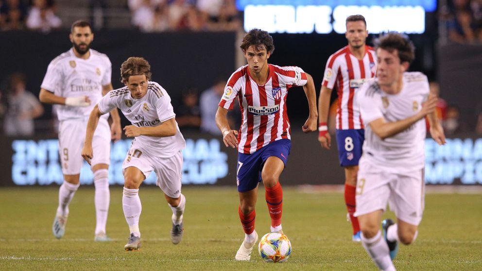 La estrepitosa derrota del Real Madrid ante el Atlético en el derbi en EEUU (3-7)