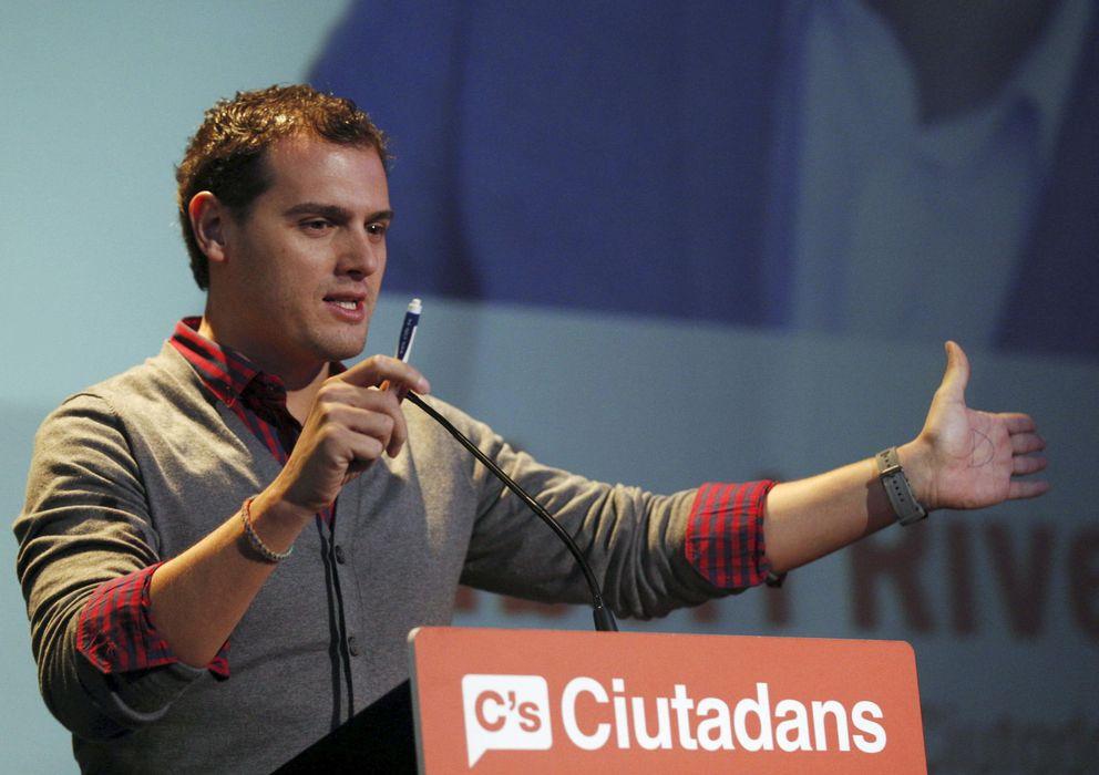 Foto: El líder de Ciutadans, Albert Rivera (EFE)