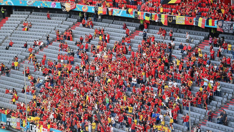 Seguidores de Bélgica en Munich (Reuters)