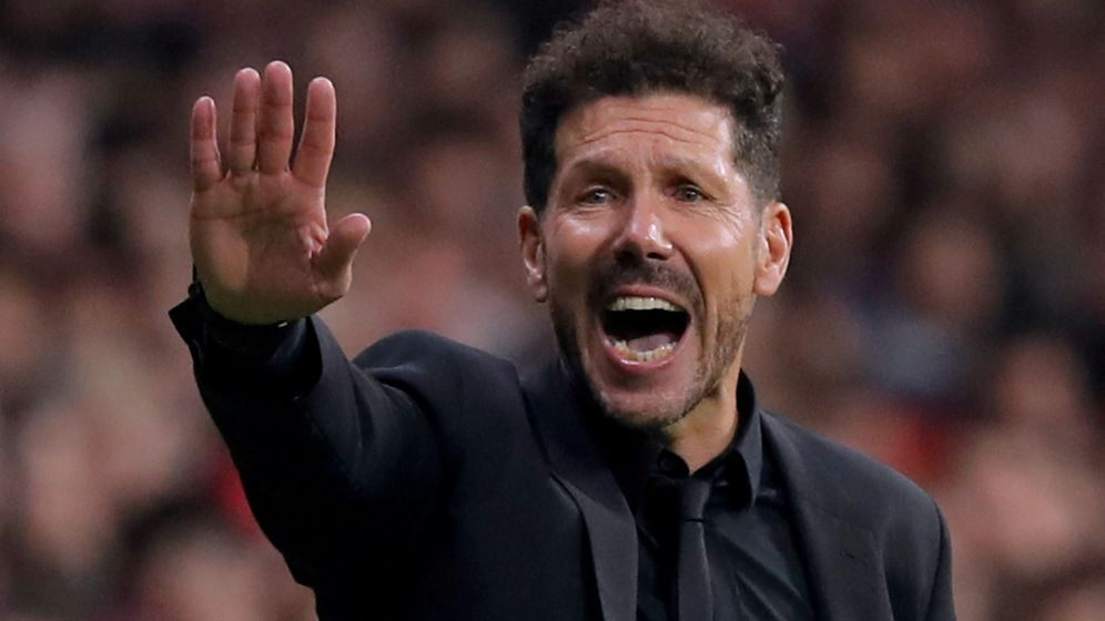 Foto: Diego Simeone, actual entrenador del Atlético de Madrid. (Reuters)