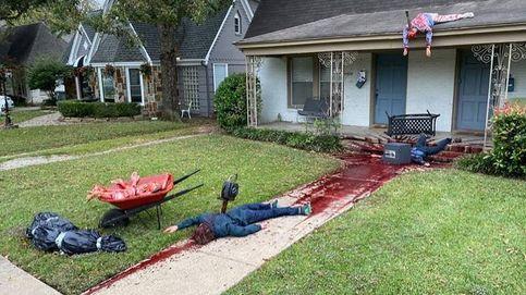 La salvaje decoración de Halloween en EEUU que ha provocado la visita de la policía