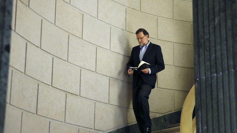 Foto: El presidente del Gobierno en funciones, Mariano Rajoy antes de una rueda de prensa. (EFE)