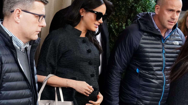 La duquesa de Sussex, durante su reciente escapada a Nueva York. (Reuters)