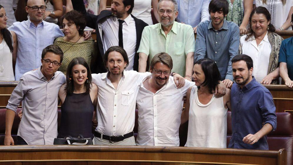 Foto: Las confluencias de Podemos buscan autonomía. (EFE)