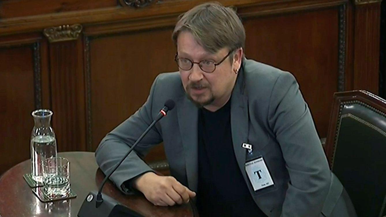 Domènech vio en el 20-S que el Estado había entrado en una lógica de guerra