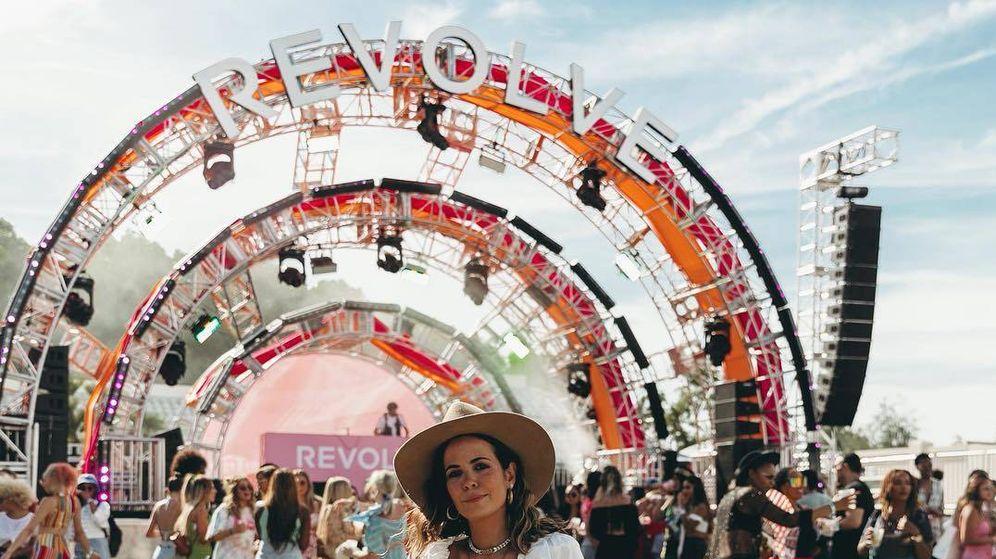 Foto: Sara Escudero, de Collage Vintage, con un look perfecto para ir de festival. (Instagram)