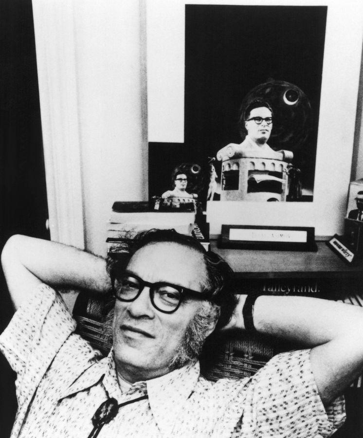 Foto: Isaac Asimov, en 1980. (Cordon Press)