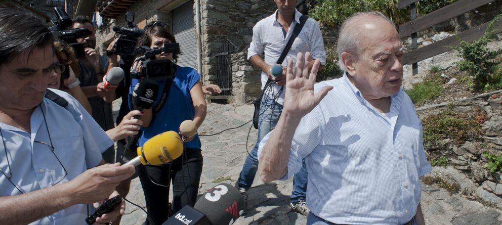 Foto: Jordi Pujol en su residencia de Queralbs. (Efe)