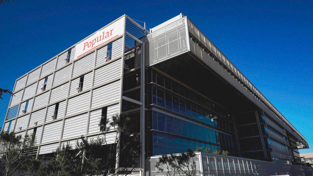 Foto: Nueva sede (vacía) del Banco Popular.