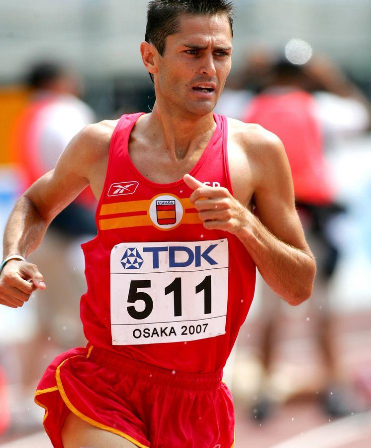 Foto: En la imagen, Antonio David Jiménez Pentinel en Osaka 2007. (CordonPress)