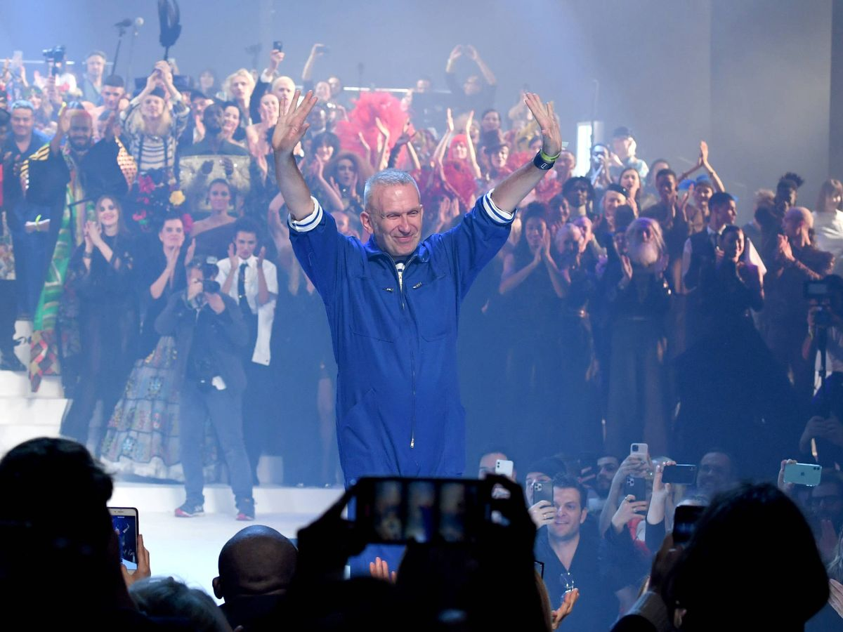 Foto: La despedida de Jean Paul Gaultier. (Getty)