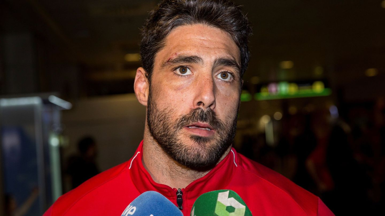 El capitán de la selección Española de Rugby Jaime Nava. (EFE)