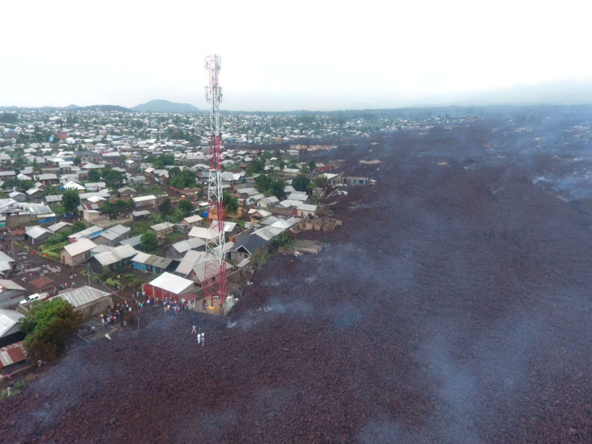 Foto: Las áreas situadas a las afueras han quedado destruidas (Reuters/Djaffar)