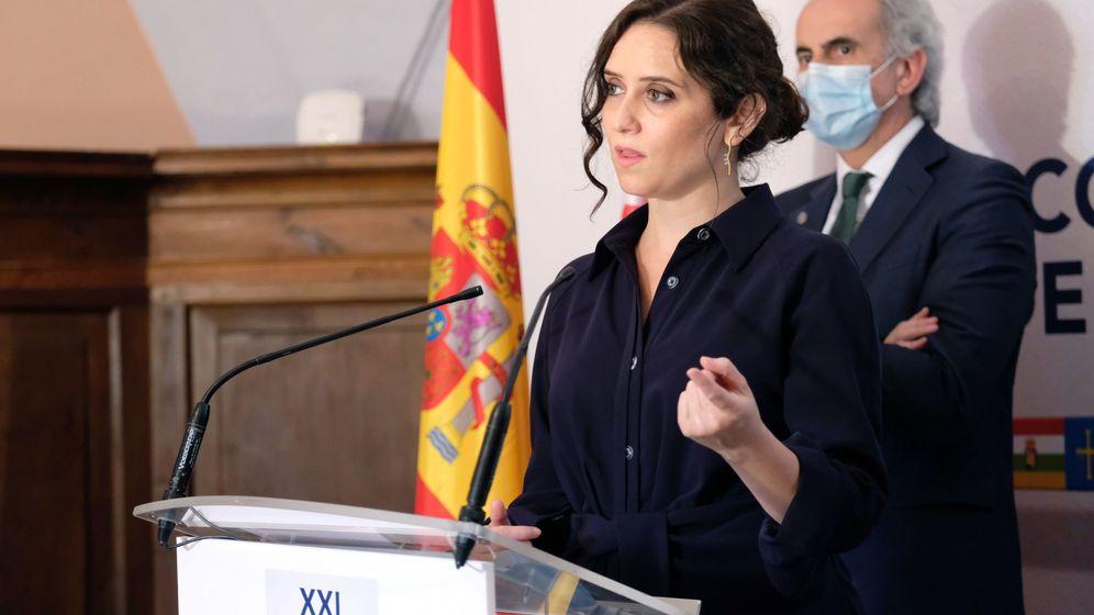 Foto: La presidenta de la Comunidad de Madrid, Isabel Diaz Ayuso. (EFE)