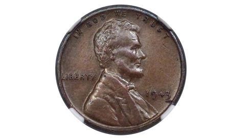 Su padre guardó un raro centavo de cobre en 1943... y hoy vale 150.000 euros