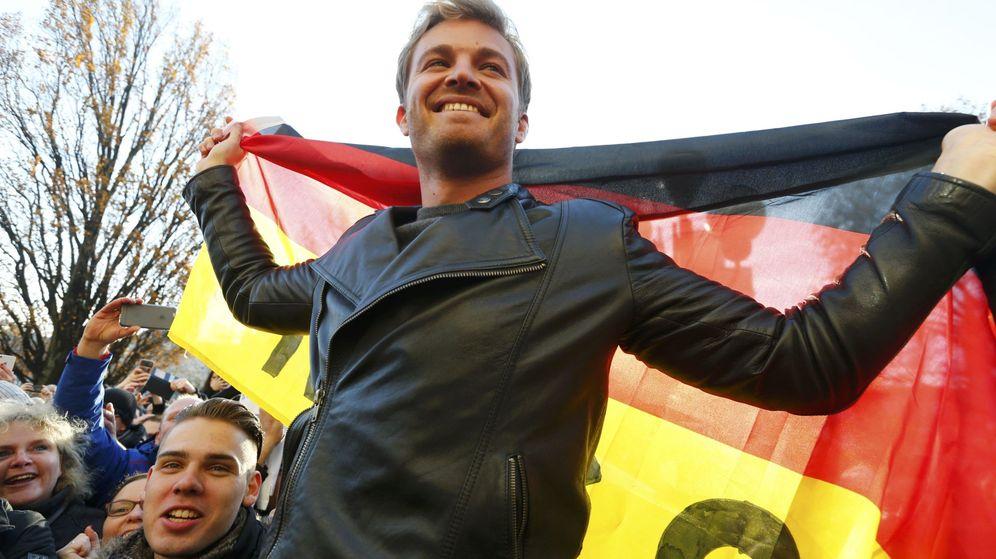 Foto: Rosberg celebró el título en Wiesbaden (Alemania), ciudad de su madre (Ralph Orlowski/Reuters)