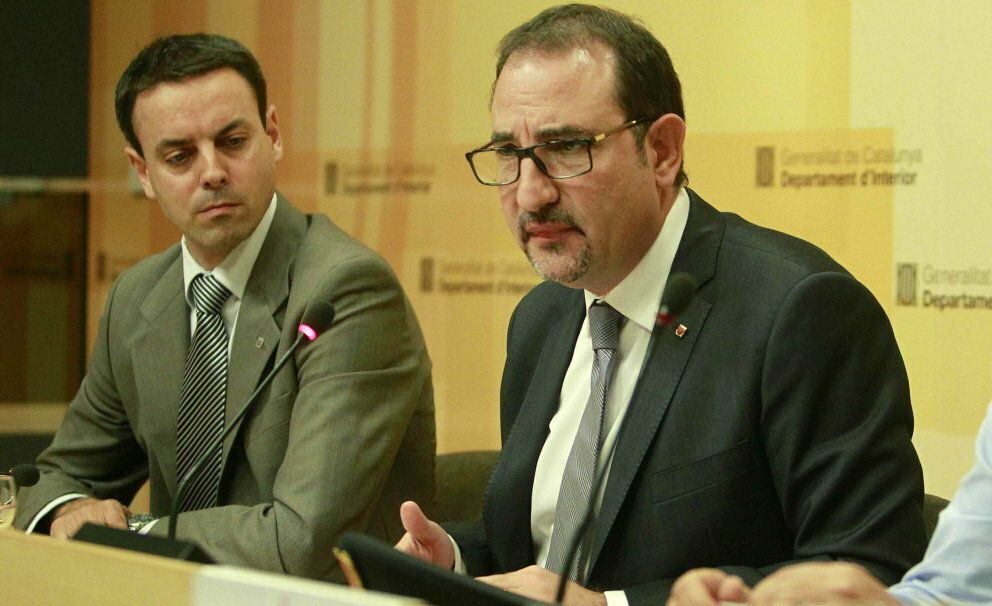 El conseller de Interior de la Generalitat, Ramon Espalader. (EFE)