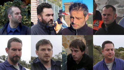 Estos son los ocho mineros que han trabajado sin descanso en el rescate de Julen