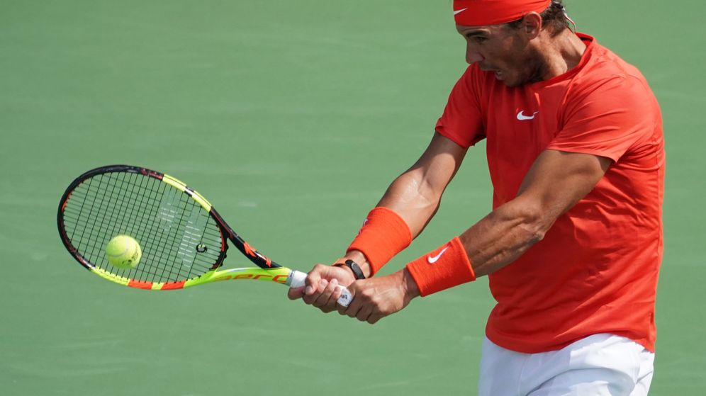Foto: Rafa Nadal, en Toronto. (EFE)