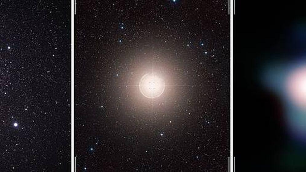 Foto: La estrella Betelgeuse en Orion. (Wikimedia Commons / European Southern Observatory)
