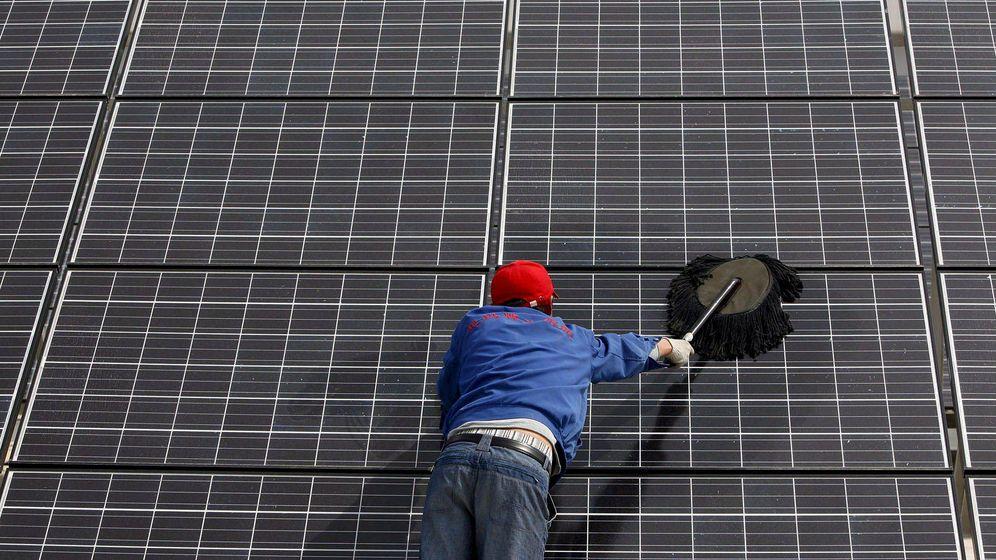 Foto: Energía solar. (EFE)